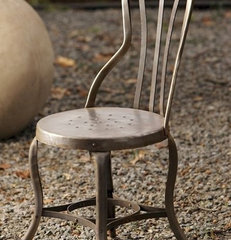 eclectic dining chairs and benches by Mothology