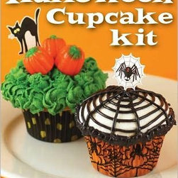 Halloween Cupcake Kit - With liners, decorating tips, pastry bags and more, you can't go wrong with your spooky designs.