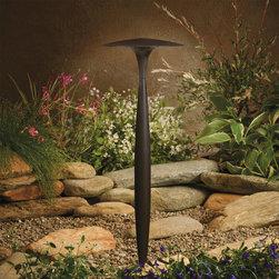 Kichler Lighting - Kichler Lighting 15833AZT27 Landscape 12v Led 6 Light Pathway Lighting in Textur - LED Path Light