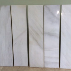 "MARBLE 10"" X 48"" PLANKS FOR FLOORS OR WALLS - FOR SALE - EMERALD COAST FABRICATION - IN STOCK AND FOR SALE 10"" X 48"" MARBLE PLANKS THAT ARE REAL MARBLE. 2200 SF AVAILABLE FOR PURCHASE. (850) 235-0003 emerald coast fabrication and design center"
