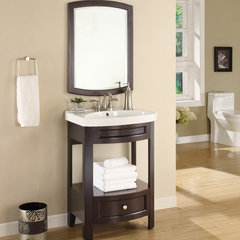 contemporary bathroom vanities and sink consoles by Overstock