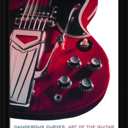 Amanti Art - Dangerous Curves: Art of the Guitar Framed Print by Carl Tremblay - Hang this image in your music studio, your living room, or anywhere you want creative inspiration to flow.