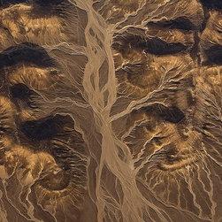 Magic Murals - Desert Sand Patterns Wallpaper Wall Mural - Self-Adhesive - Multiple Sizes - Mag - Desert Sand Patterns Wall Mural