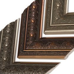 MirrorMate Mirror Frame in Gramercy - One of over 60 styles available at mirrormate.com to frame bare, bathroom mirrors while still on the wall.
