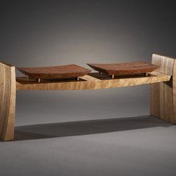 "Custom Furniture - Seating - ""Flare"" bench"