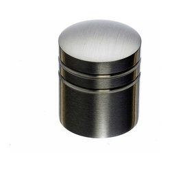 Top Knobs - Nickel Cabinet Knobs, 1 in. - Top Knobs item number M582 is a beautifully finished Nickel Cabinet Knob.