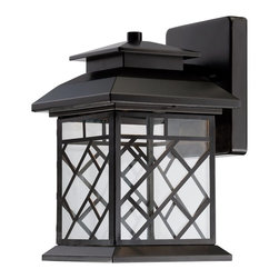 "Designers Fountain - Designers Fountain Woodmere 6.5"" LED Transitional Outdoor Wall Sconce X-BRO-1232 - Designers Fountain Woodmere 6.5"" LED Transitional Outdoor Wall Sconce X-BRO-12322DEL"