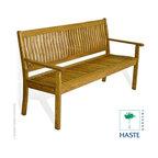 Haste Garden Riviera 3 Seater Bench - Haste Garden Riviera 3 Seater Bench