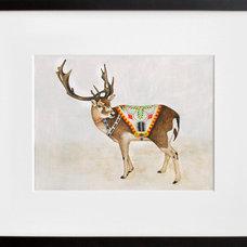 Modern Artwork Reindeer