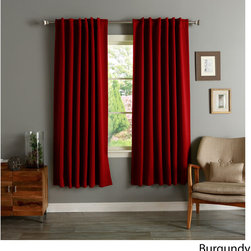 None - Insulated 72-inch Thermal Blackout Curtain Panel Pair - These insulated thermal blackout curtains are ideal for late sleepers and shift workers. This curtain panel pair helps block out noise while cutting back on window related energy loss.