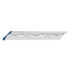 """Inviting Home - Athens Cornice Molding - Athens cornice molding 2-13/16""""H x 2-13/16""""P x 4""""F x 7'10""""L 4 piece minimum order required crown molding specifications: - outstanding quality crown molding made from high density polyurethane: environmentally friendly material is hypoallergenic and fully recyclable no CFC no PVC no formaldehyde; - front surface of this molding has extra durable and smooth surface; - crown molding is pre-primed with water-based white paint; - lightweight durable and easy to install using common woodworking tools; - metal dies were used for consistent quality and perfect part to part match for hassle free installation; - this crown molding has sharp deep and highly defined design; - matching flexible molding available; - crown molding can be finished with any quality paints; Polyurethane is a high density material--it's extremely lightweight and easy to install (and comes primed and ready to paint). It is a green material meaning its CFC and formaldehyde free. It is also moisture resistant--so it won't shrink flex or mold. What's also great about Polyurethane is that it's completely customizable and can be treated as wood (you can saw it nail it screw it and sand it). In addition our polyurethane material comes primed and ready to paint. There is a four piece minimum requirement for this molding purchase."""