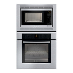 "Bosch 30"" 800 Series Combination Wall Oven Stainless Steel 