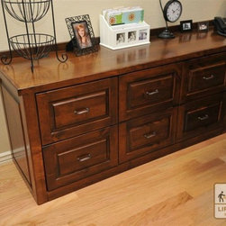 Arizona Custom Office Furniture - Arizona Custom Office Furniture With Built In Filing Cabinets