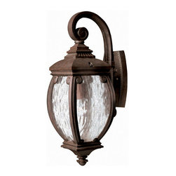 Hinkley Lighting - Hinkley Lighting 1940FZ Forum French Bronze Outdoor Wall Sconce - Hinkley Lighting 1940FZ Forum French Bronze Outdoor Wall Sconce
