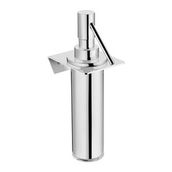 WS Bath Collections - WS Bath Collections Kubic Class Soap Dispenser - Designer Bathroom Accessories