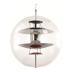 Fine Mod Imports - World Hanging Lamp - Features: