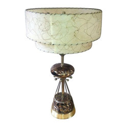 SOLD OUT!  Vintage Atomic Sputnik Table Lamp - $898 Est. Retail - $425 on Chairi