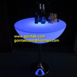 Cocktail LED Bar Table Lighting Furniture