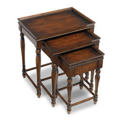 Hooker Furniture - Hooker Furniture Nest of Three Tables 500-50-810 - One drawer on small table