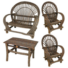 Rustic Outdoor Chairs by Direct From Mexico Home Furnishings