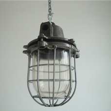 Traditional Pendant Lighting by SkinFlint Design