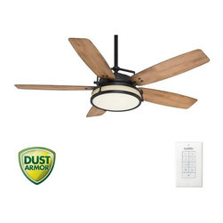 "Casablanca - Casablanca 59113 Caneel Bay 56"" 5 Blade Ceiling Fan - Light Kit, Blades, and Wal - Included Components:"