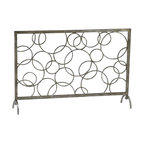 Cyan Design - Circle Fire Screen - Weight: 25.3lbs.