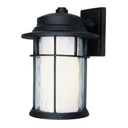 Trans Globe Lighting - Trans Globe Lighting LED-5291 BK LED Outdoor Wall Light In Black - Part Number: LED-5291 BK