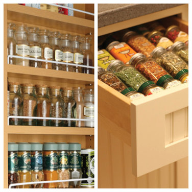 Poll spice rack vs spice drawer for Carousel spice racks for kitchen cabinets