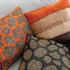 Eclectic Decorative Pillows by ARTEXTURAL DESIGNS INC.