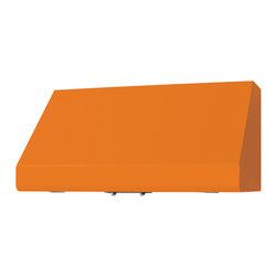 """36"""" Prizer Incline Hood in Deep Orange (RAL 2011) - Deep Orange (RAL 2011)"""