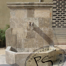 Outdoor Fountains And Ponds by Phoenician Stone