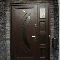 Modern Exterior Door Model 041 - Modern Home Luxury