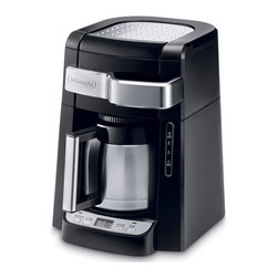 DeLonghi - Auto Drip Coffee Maker - 10 Cups Programmable - Features: