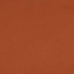 Cinnamon Orange Solid Cotton Denim Twill Upholstery Fabric By The Yard - This upholstery grade twill fabric, is great for all indoor applications. It is made from 100 percent cotton, and is rated heavy duty.