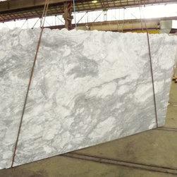 Super white quartzite slab - La Pietra Marble Inc