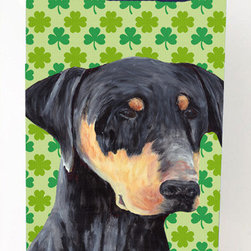 Caroline's Treasures - Doberman Shamrock Portrait Michelob Ultra Koozies for slim cans - Doberman St. Patrick's Day Shamrock Portrait Michelob Ultra Koozies for slim cans SC9297MUK Fits 12 oz. slim cans for Michelob Ultra, Starbucks Refreshers, Heineken Light, Bud Lite Lime 12 oz., Dry Soda, Coors, Resin, Vitaminwater Energy, and Perrier Cans. Great collapsible koozie. Great to keep track of your beverage and add a bit of flair to a gathering. These are in full color artwork and washable in the washing machine. Design will not come off.