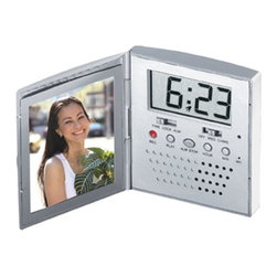 "Kito - 3 Inch Voice Record (2.5"" x 2.5"") Picture Frame with Alarm Clock - This gorgeous 3 Inch Voice Record (2.5"" x 2.5"") Picture Frame with Alarm Clock has the finest details and highest quality you will find anywhere! 3 Inch Voice Record (2.5"" x 2.5"") Picture Frame with Alarm Clock is truly remarkable."