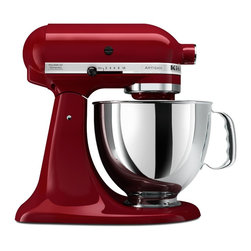KitchenAid Artisan Series 5-Quart Mixer, Gloss Cinnamon - This KitchenAid Artisan mixer in gloss cinnamon would add a pop of color to the kitchen for years — they last forever!