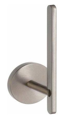 Smedbo - Smedbo Loft Spare Roll Holder, Brushed Nickel - Smedbo Loft Spare Roll Holder, Brushed Nickel