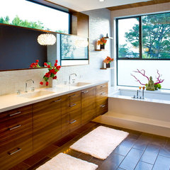 contemporary bathroom by Jeneration Interiors