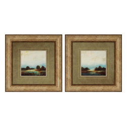 Paragon - Vistas PK/2 - Framed Art - Each product is custom made upon order so there might be small variations from the picture displayed. No two pieces are exactly alike.