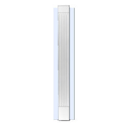 """Inviting Home - Portland Fluted Pilaster - Fluted pilasters - no backboard (E591) 7'6-1/2""""H x 5-1/4""""W x 1-1/4""""D Pillaster are designed for exterior or interior appliacation. Outstanding quality and durability fluted pilaster for door trim made from high density polyurethane factory primed white. Pilaster��s are lightweight durable and easy to install using common woodworking tools. Pilasters can be finished with any quality paints."""