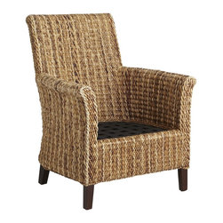 Banana Armchair - Nothing says summer like wicker!