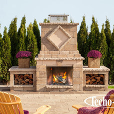 Traditional Fire Pits by Techo-Bloc