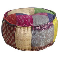 Eclectic Footstools And Ottomans by Pier 1 Imports