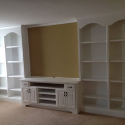 Custom Bookcase cabinets -