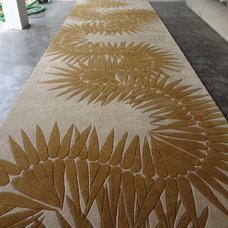 Traditional Carpet Tiles by Naja Utzon Popov