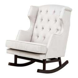 Nurseryworks Empire Rocker - This is a perfect example of a traditional-style rocker with a modern twist.