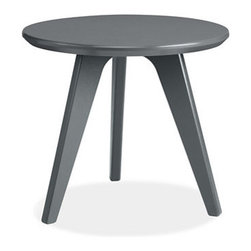 Satellite End Table, Grey - The unique shape of the legs on this little side table make the simple piece stand out.